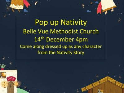 Belle Vue Pop up nativity