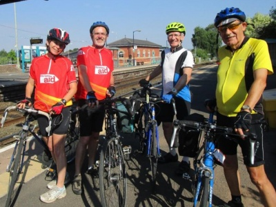 Christian Aid bike ride