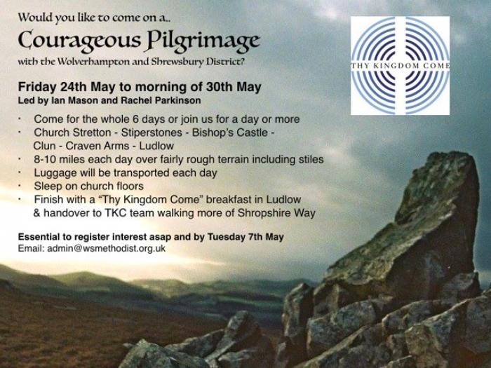 Courageous Pilgrimage Thy Kingdom Come