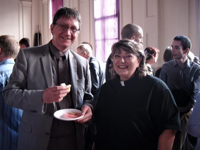 REVD MACNEILL-COOPER ORDINATION RECEPTION