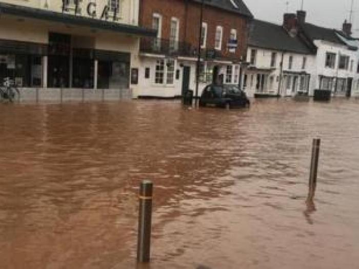 Tenbury flooding